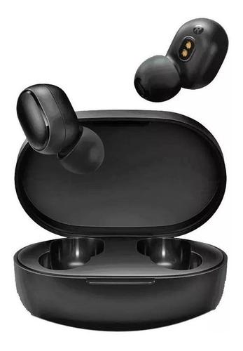 Imagem 1 de 5 de Fone Bluetooth Xiaomi Mi True Wireless Earbuds Basic S Preto