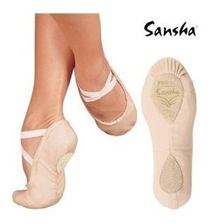 Zapatillas De Ballet Y Danza Importadas Sansha Y Capezio