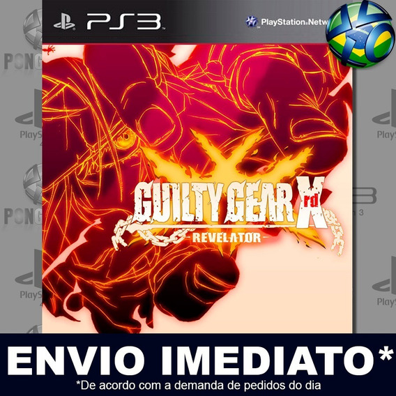 Guilty Gear Xrd Revelator Ps3 Digital Psn Envio Agora