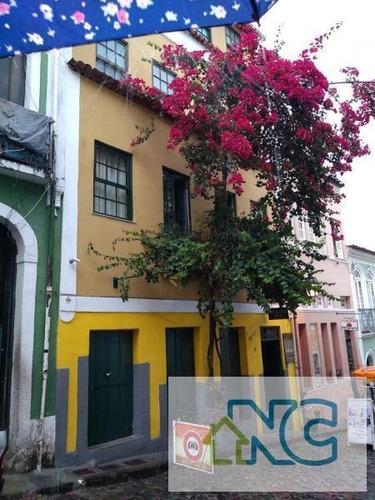 Imagem 1 de 15 de Pousada Para Venda Em Salvador, Pelourinho, 6 Dormitórios, 6 Suítes, 8 Banheiros, 6 Vagas - 1148_1-1211680