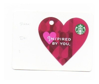 Tarjeta Starbucks (mexico) Modelo 12