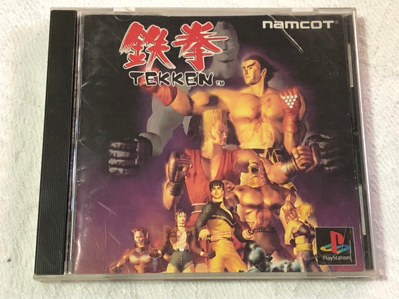 Playstation 1 : Tekken 1 Original Japonês