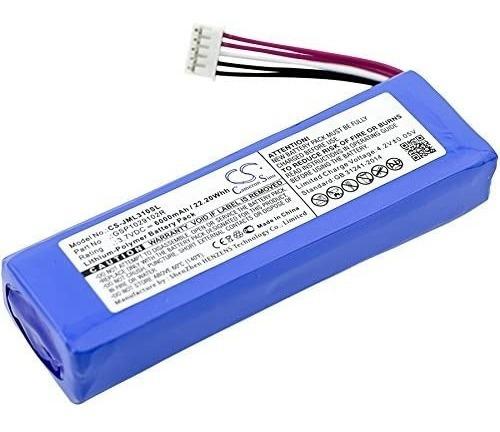 Batería P/ Parlante Jbl Charge 2 Plus Cameron Sino Jml310sl