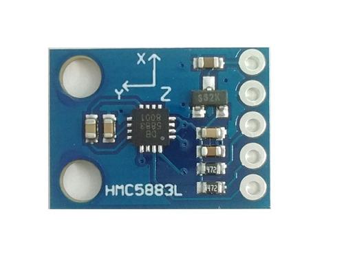 Imagen 1 de 3 de Modulo Hmc5883l Brújula O Compass  Arduino Pic Robot Atmega