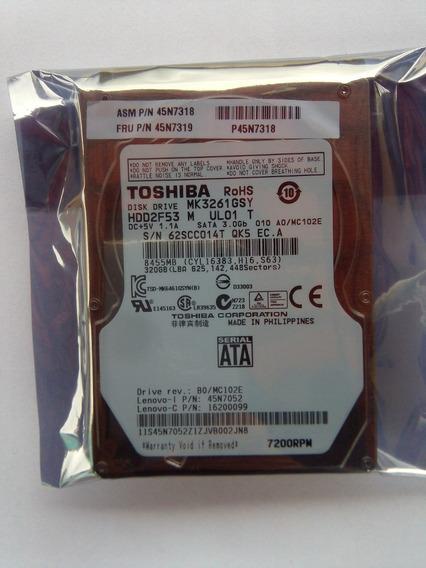 Hd Notebook 500gb Sata2 9mm Toshiba Rv411 Rv415 Rv410