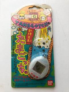 Original Tamagotchi Vintage1996 Blanco Transparente Bandai