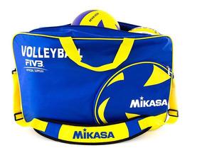 Bolsa Para 6 Bolas Vl6c-bl Azul Mikasa