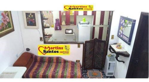 Imagem 1 de 14 de Kitnet Com 1 Dormitório À Venda, 34 M² Por R$ 110.000 - Mirim - Praia Grande/sp - Kn0483