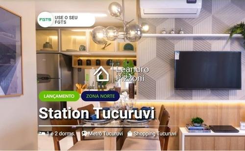 Imagem 1 de 15 de Station Tucuruvi 35,18m2 2 Dormitório Sem Vaga - Apartamento A Venda No Bairro Parque Vitória - São Paulo, Sp - Station-tucuruvi-3518