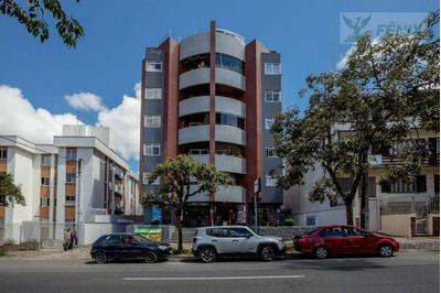 Apartamento Com 2 Dormitórios Para Alugar, 78 M² Por R$ 1.300/mês - Ahú - Curitiba/pr - Ap0725