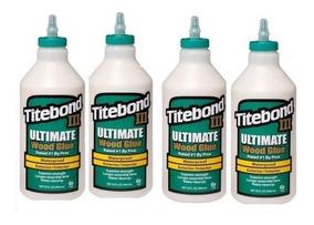 Cola P/ Madeira Titebond 3 Ultimate Kit C/ 4kg ( Verde )