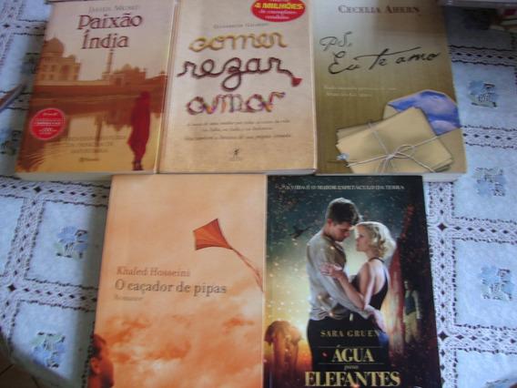5 Livros Literatura Estrangeira Romance Titulo Na Descrição