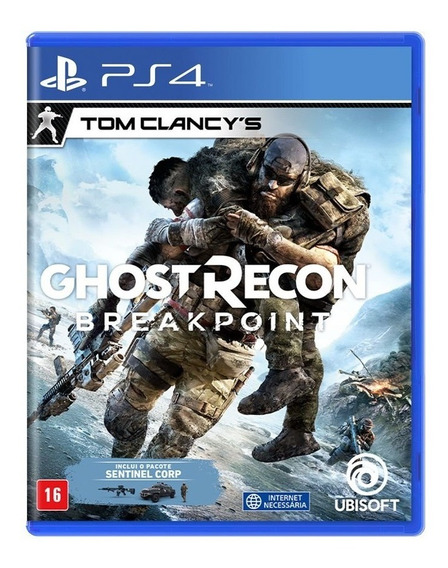 Jogo Midia Fisica Tom Clancys Ghostrecon Breakpoint Para Ps4