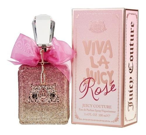 Perfume Locion Viva La Juicy Rose Mujer 100ml Original