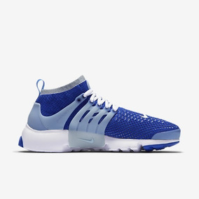 Tênis Nike Air Presto Flyknit Ultra Masculino Azul Casual
