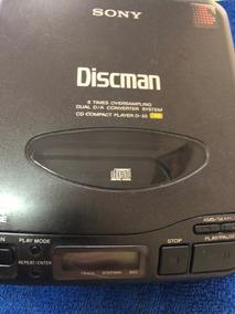Discman Sony D-33 Antigo Ano 1991 Perfeito