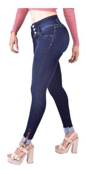 Jeans Dama Pantalones Mujer Colombiano Pompa Maxi Pompi