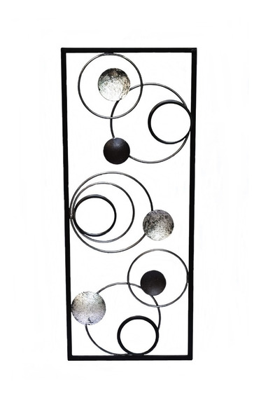Cuadro Panel Mural Moderno Deco Espejo Esferas 101.051027