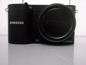 Câmera Samsung Nx1000 Defeito Não Liga Grátis Alça E Bolsa