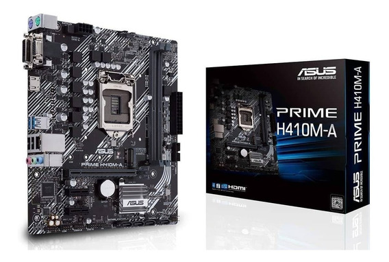 Motherboard Asus Prime H410m-a Ddr4 1200 Hdmi H410 10ma Gen
