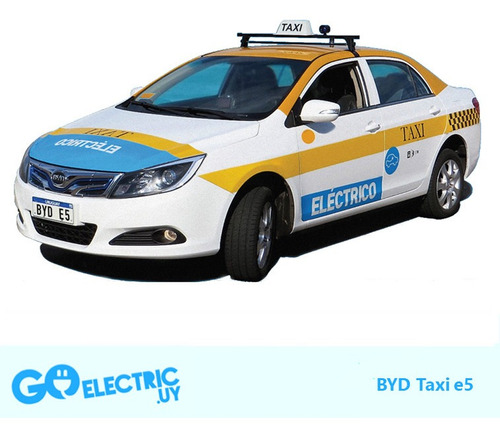 Taxi Eléctrico Para Recambio De Combustión (nafta / Diesel)