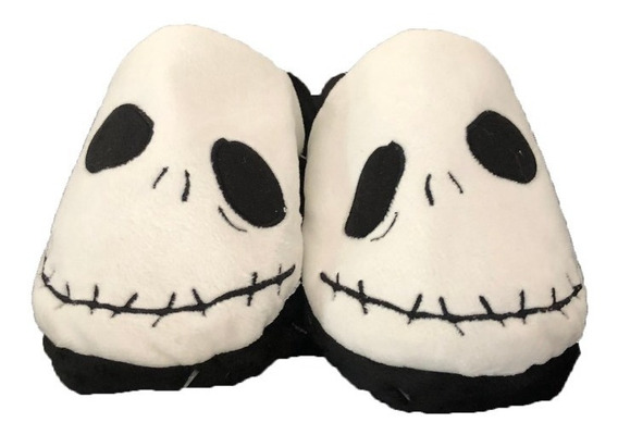 Pantuflas El Extraño Mundo De Jack Halloween Jack Skellingto