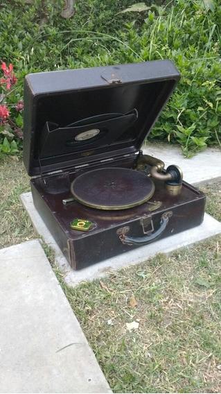 Gramafono Vitrola Marca Victor Original