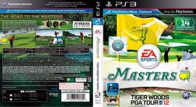 Masters Tiger Woods Pga Tour 12 Para Ps3 Usado Midia Fisica