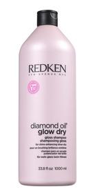 Redken Shampoo Diamond Oil Glow Dry Gloss 1000ml