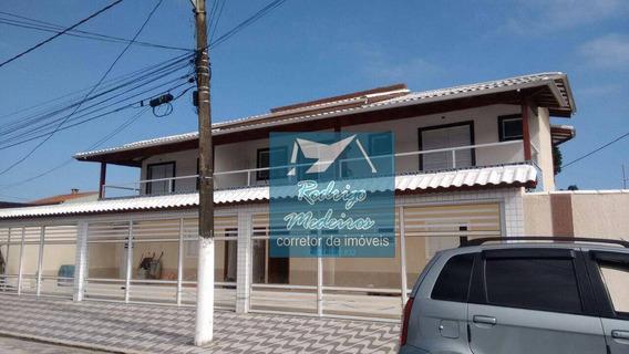 Casa Com 2 Dormitórios À Venda, 40 M² Por R$ 125.000 - Jardim Samambaia - Praia Grande/sp - Ca0032