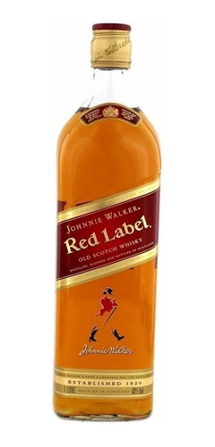 Johnnie Walker Red Scotch Whisky (litre) 100% Original