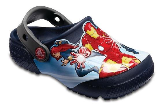 Crocs Originales Fl Avengers Kids C205120 C410 Nenes Asfl70
