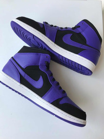 Sneakers Originales Jordan 1 Retro Mid Court Purple Original