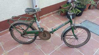 Antigua Bicicleta Tarzán Plegable A Restaurar
