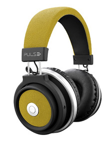 Fone De Ouvido Pulse Headphone Large Bluetooth Amarelo Ph233