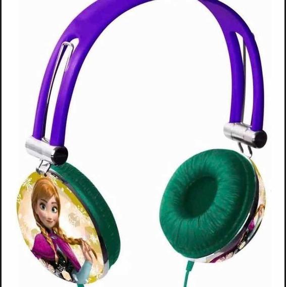 Headphone Disney Frozen Ph131 Multilaser Novo 0km No Blister