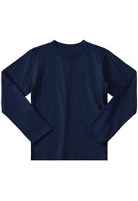 Kit 3 Camiseta Infantil Manga Longa Tamanho. 2/4/6/8/10/12
