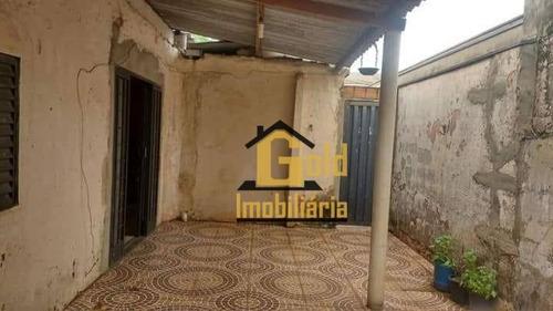 Casa Com 2 Dormitórios À Venda, 83 M² Por R$ 160.000 - Vila Albertina - Ribeirão Preto/sp - Ca0670