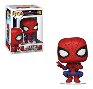 Funko Pop Far From Home Spider Man 468 Muñeco Original