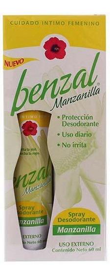 Benzal Desodorante Íntimo En Spray Manzanilla