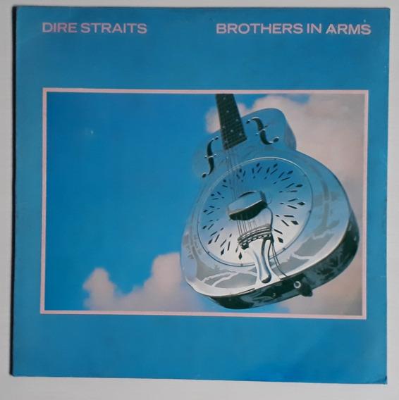 Lp Dire Straits/brothers In Arms/1989/com Encarte/b Estado