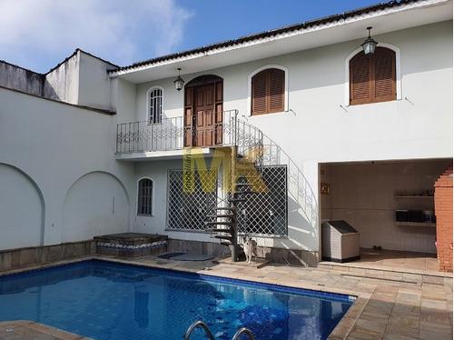 Imagem 1 de 27 de Sobrado Com 04 Dormitórios Com  Piscina Na Vila Zelina Sp - 1083