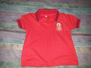 Chemise Roja Preescolar Uniforme Don Bosco Táchira