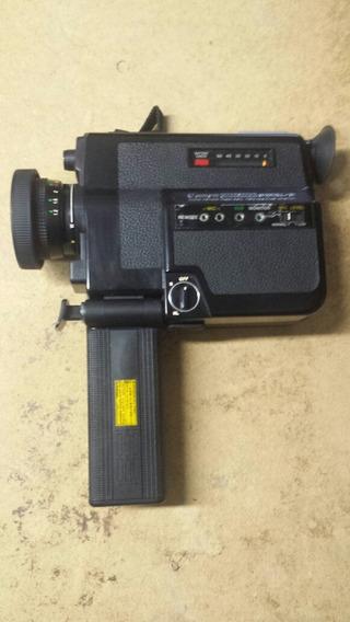 Filmadora Canon 312xl-s 8mm Canosound Com Case E Filme