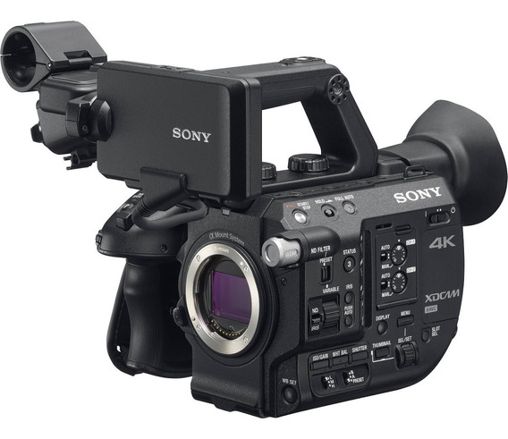 Camera Sony Pxw-fs5 4k Raw