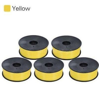 5pcs Abs Filament-yellow - Anet A8 Lcd2004 Escritorio A-0384