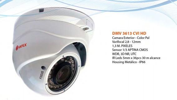 Camara Seguridad Infrarroja Domo Hd Tvi Vatex Dmv3613