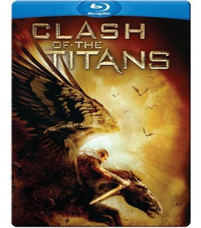 Blu-ray Clash Of The Titans / Steelbook / Furia De Titanes