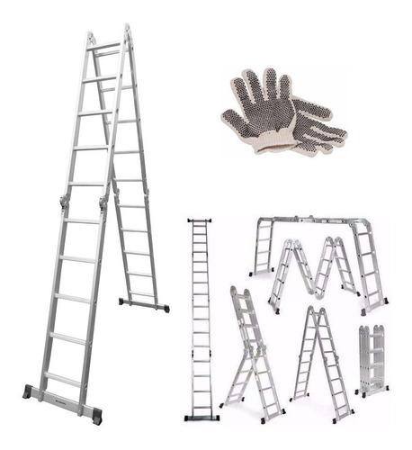 Imagen 1 de 10 de Guantes Con Escalera Multipropósito Articulada 4x5 Kushiro