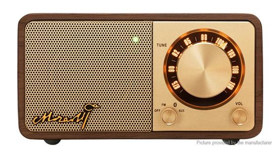 Rádio Sangean Mozart Fm Bluetooth Dourado Alta Qualidade